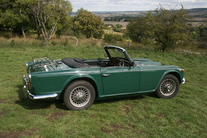 1966 VG example of a TR4A