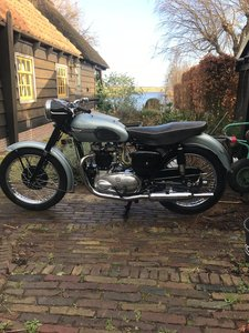 1955 Beautiful Triumph T110 SALE PENDING