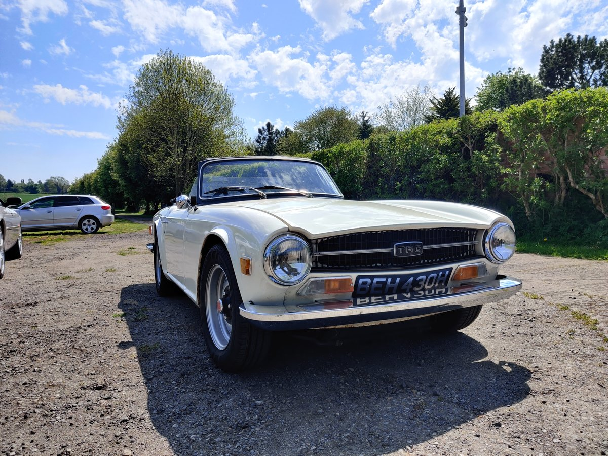 1970 Triumph TR6  For Sale (picture 1 of 6)