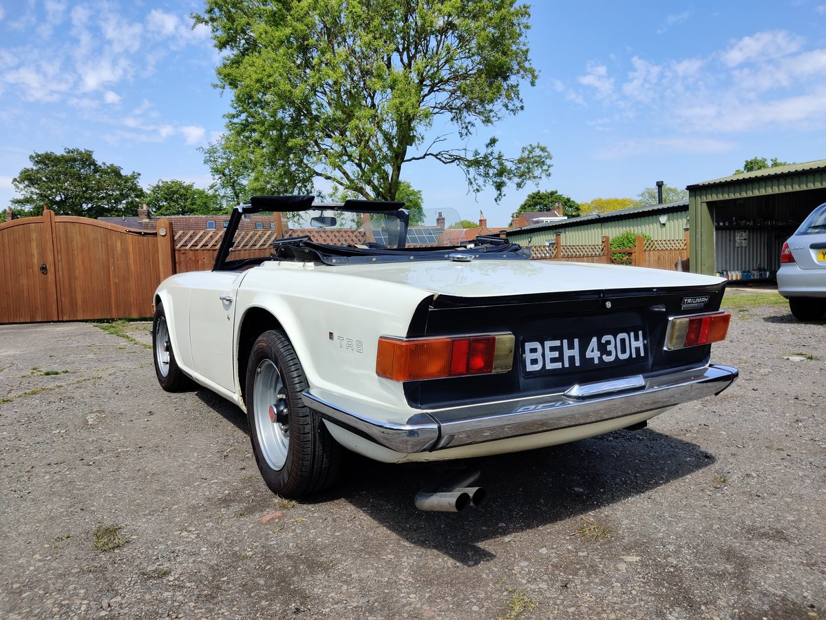 1970 Triumph TR6  For Sale (picture 2 of 6)