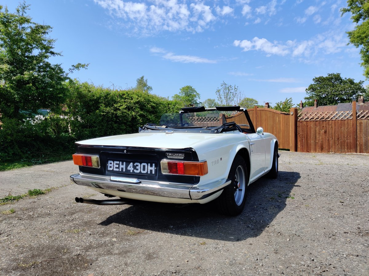 1970 Triumph TR6  For Sale (picture 5 of 6)