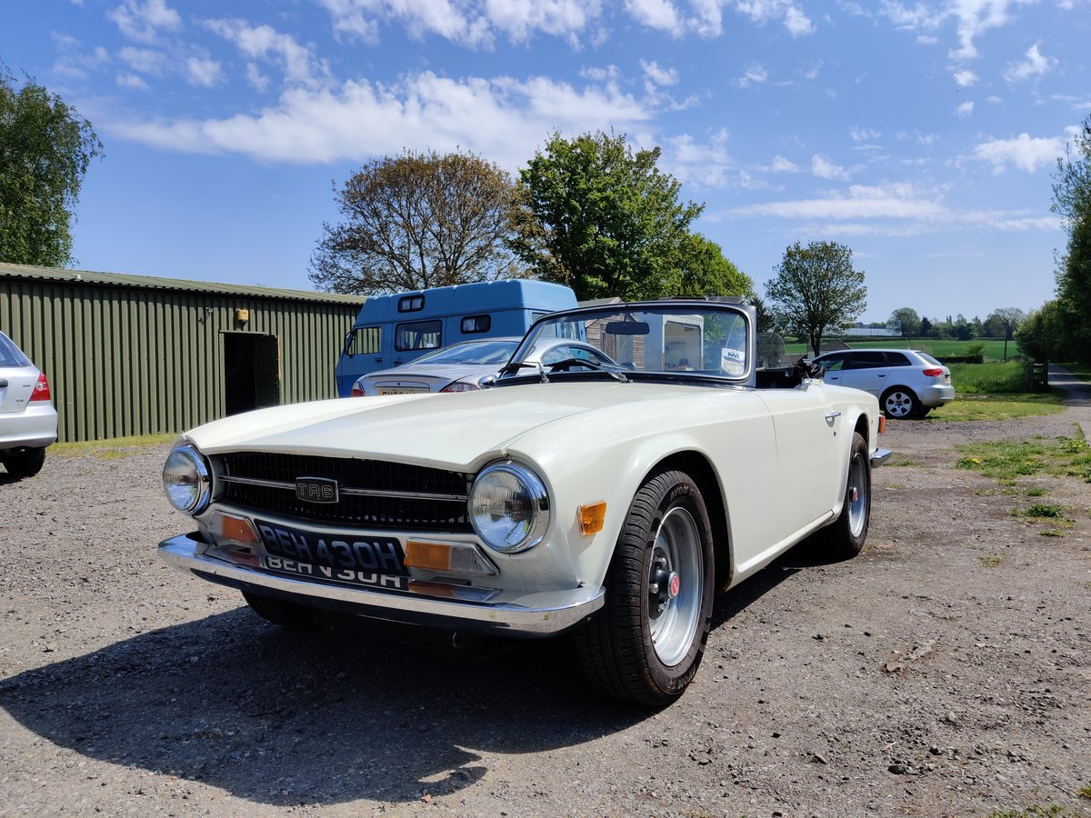 1970 Triumph TR6  For Sale (picture 6 of 6)