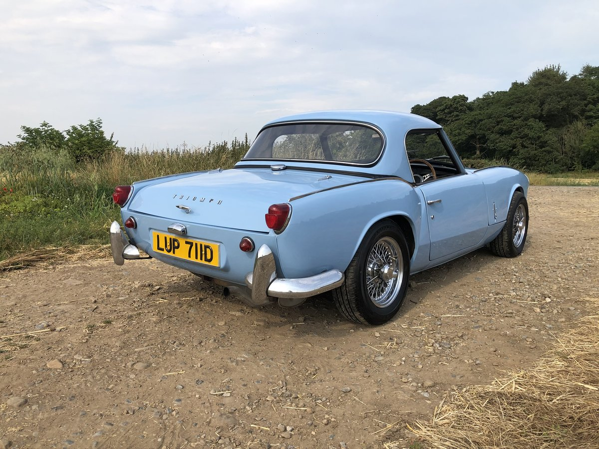 1966 Trimph Spitfire MKII fully restored For Sale (picture 4 of 10)