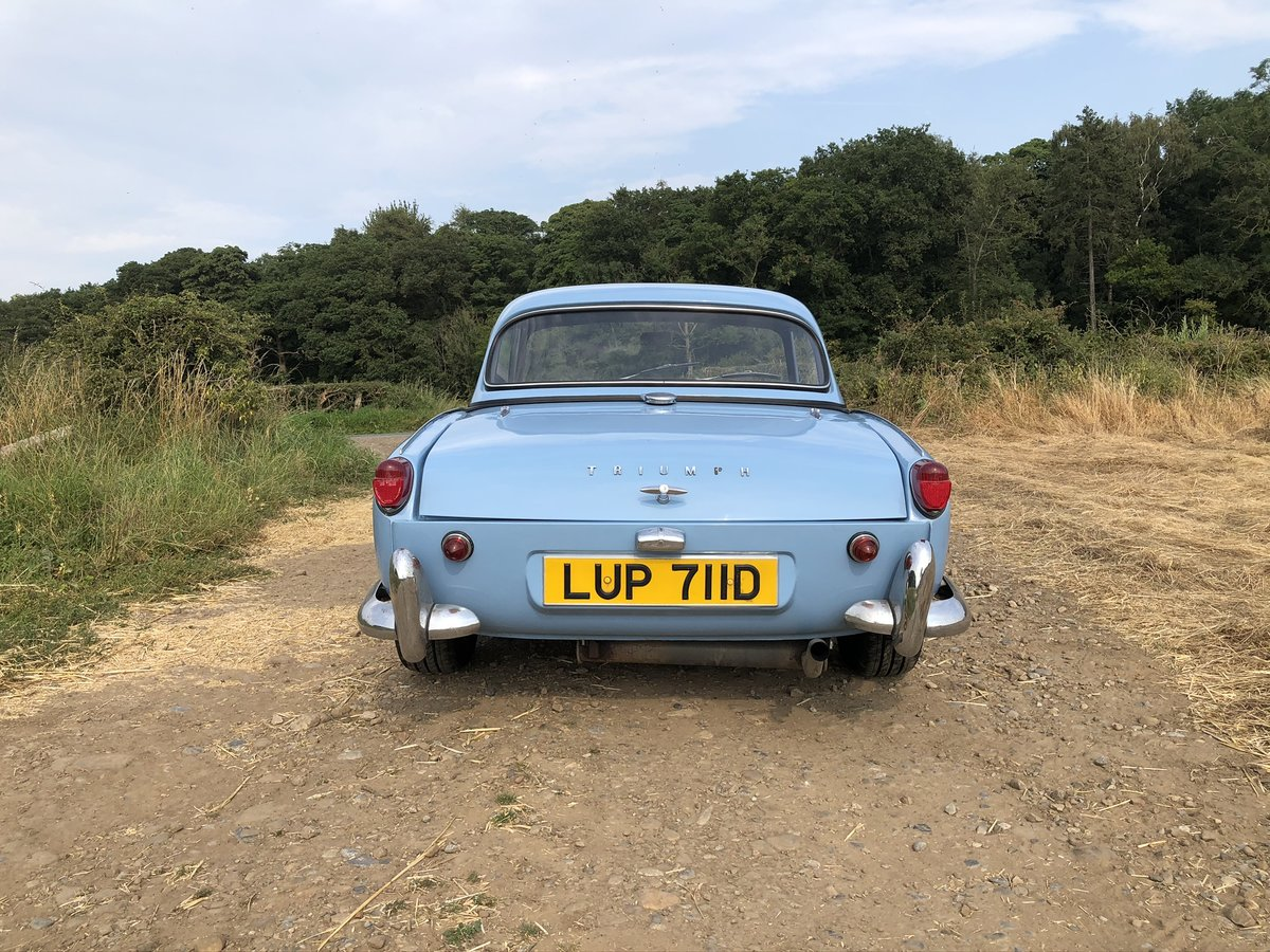 1966 Trimph Spitfire MKII fully restored For Sale (picture 5 of 10)