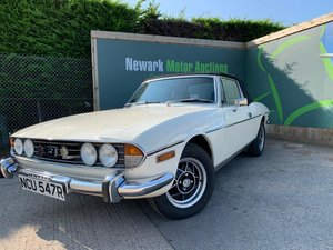 1976 Ist October Auction entry - physical sale! Triumph Stag