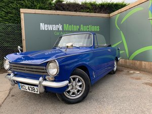 1971 Ist October Auction entry - physical sale! Herald Soft Top