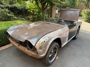 Picture of 1968 PART RESTORED TR250 project car !!