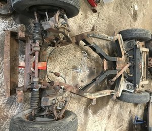 Picture of 1974 Triumph TR6 rolling chassis (damaged) with ID
