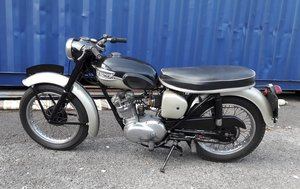 Triumph Tiger Cub running and in good order.