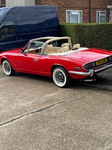 1973 Honest Reliable Triumph Stag