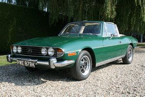 1972 Triumph Stag 3.0 V8 Manual . excellent History