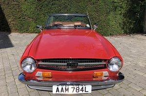 1972 TRIUMPH TR6 150 BHP OVERDRIVE