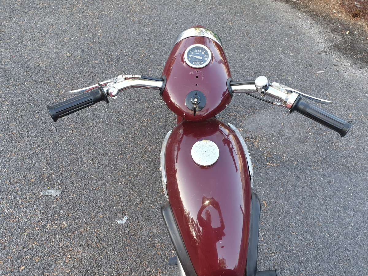 1954 Triumph Terrier T15 restored SOLD (picture 3 of 6)