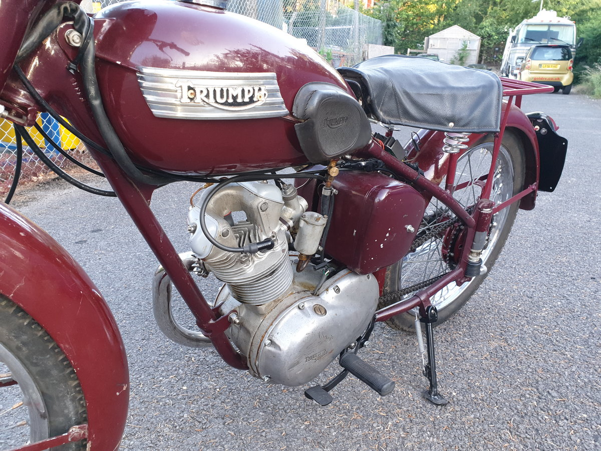 1954 Triumph Terrier T15 restored SOLD (picture 5 of 6)
