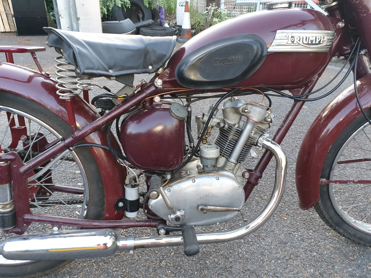 1954 Triumph Terrier T15 restored SOLD (picture 6 of 6)