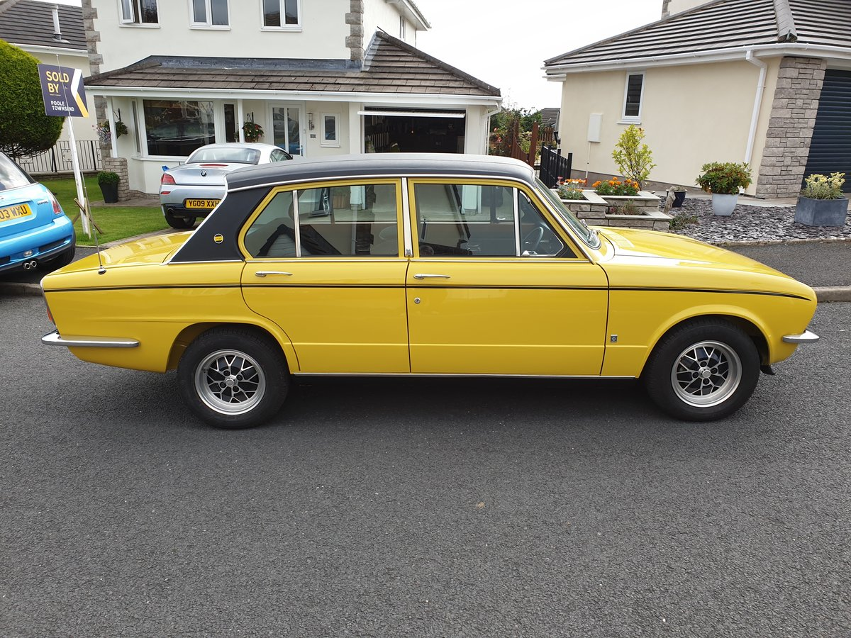 1973 Fully Restored Early Triumph Dolomite Sprint SOLD (picture 1 of 6)