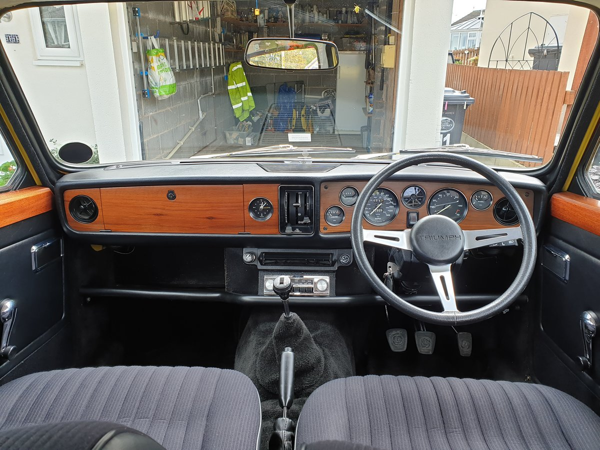 1973 Fully Restored Early Triumph Dolomite Sprint SOLD (picture 3 of 6)