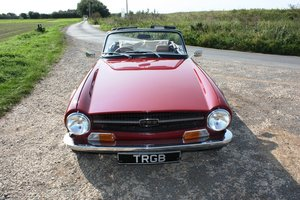 1969 TRIUMPH TR6. ORIGINAL UK FUEL INJECTED CAR WITH OVERDRI For Sale