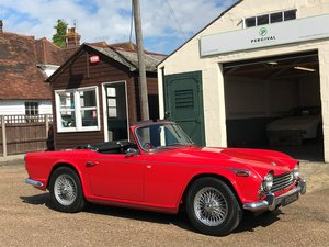 Picture of 1965 Triumph TR4a, overdrive, UK car, SOLD SOLD