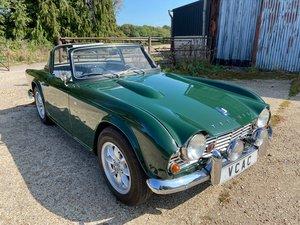 Triumph TR4 Surrey Top 1962