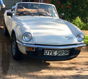 1976 Triumph Spitfire (3-owners, always garaged) For Sale