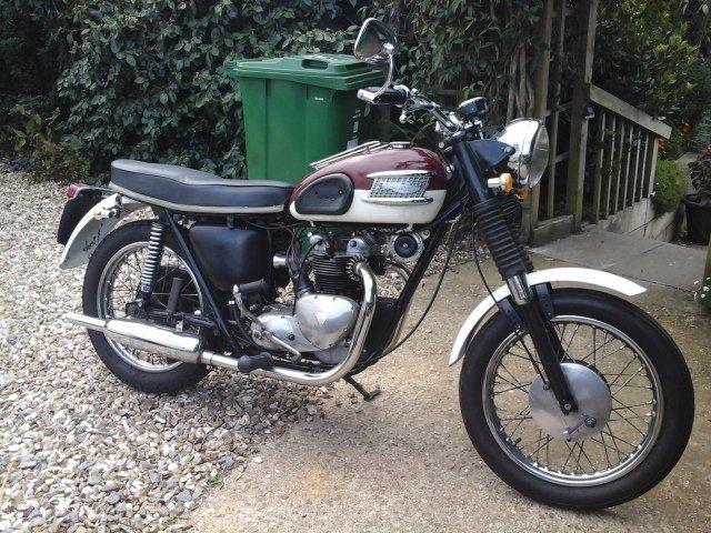 1961 Triumph 3ta SOLD (picture 1 of 5)