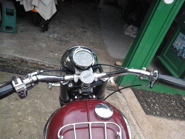 1961 Triumph 3ta SOLD (picture 4 of 5)