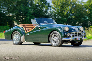 1959 Excellent Triumph TR3A with Overdrive (LHD)