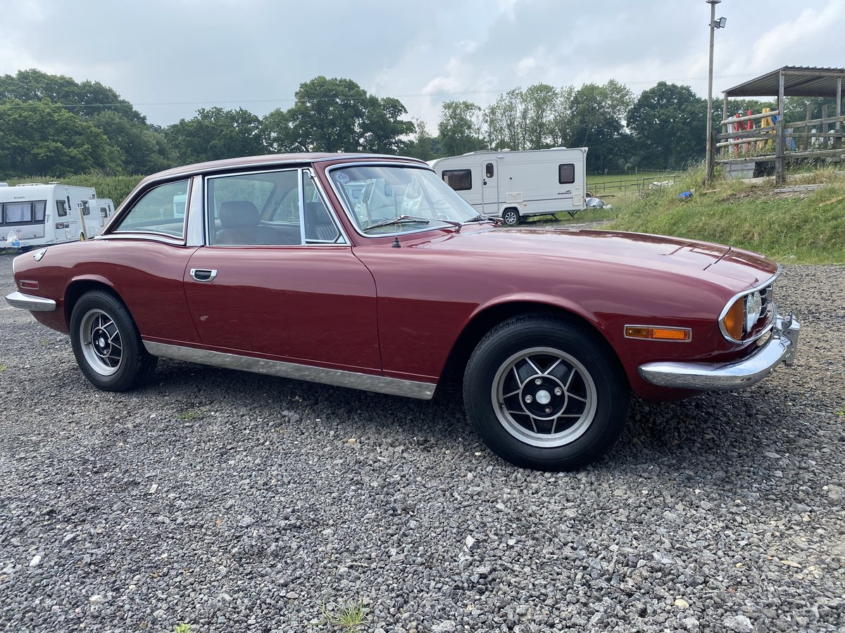 1973 Triumph Stag - LHD SOLD (picture 1 of 6)