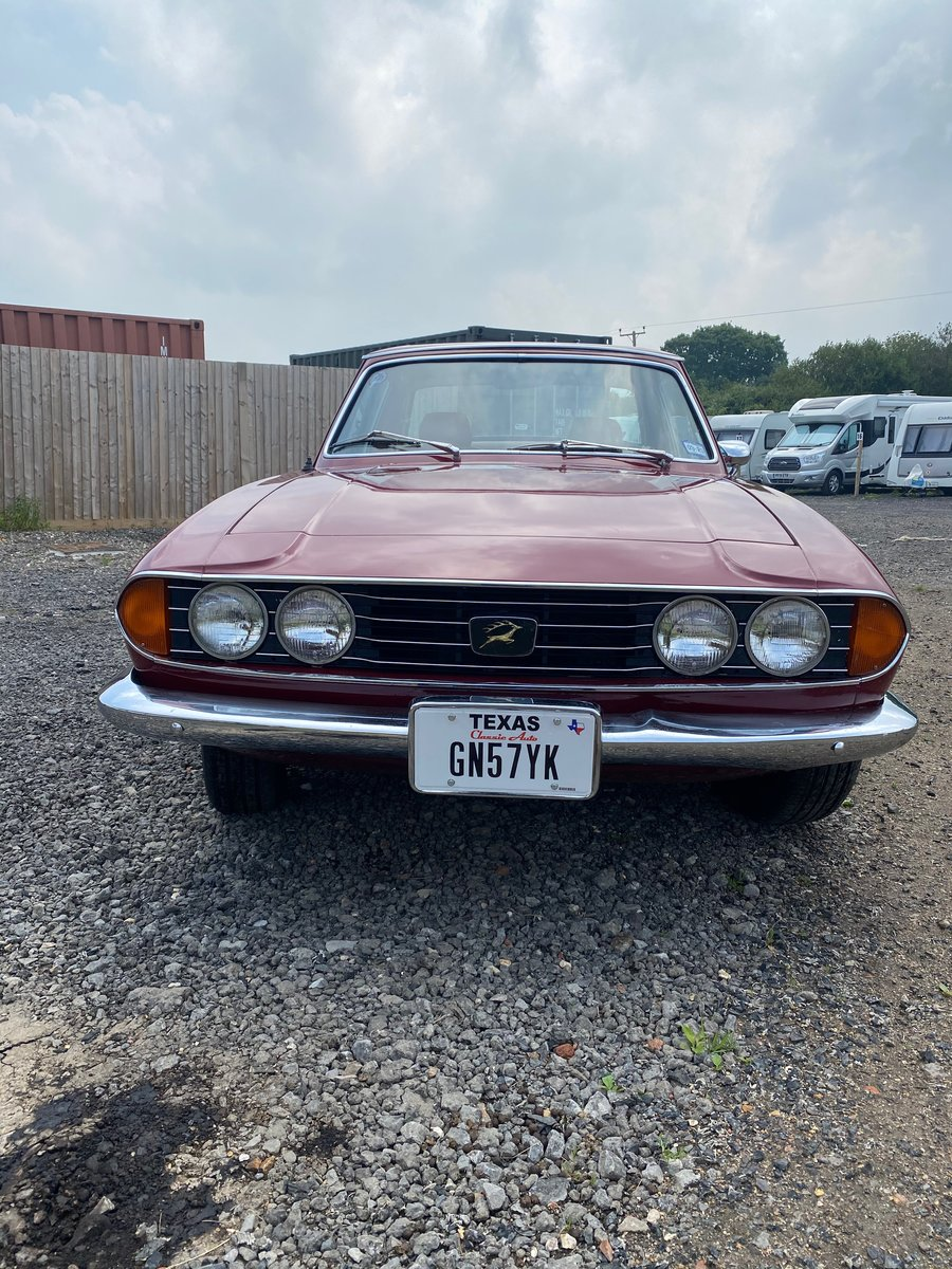 1973 Triumph Stag - LHD SOLD (picture 2 of 6)