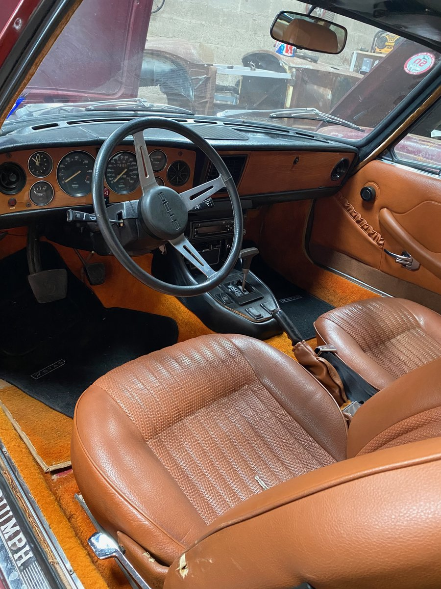 1973 Triumph Stag - LHD SOLD (picture 5 of 6)