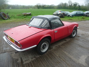 1975 Triumph spitfire 1300 with overdrive