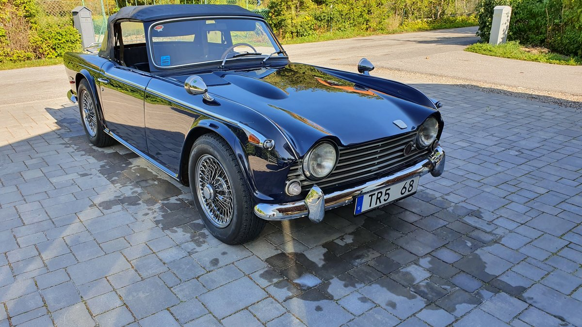 1968 Original LHD Triumph TR5 PI - Priced to Sell SOLD (picture 6 of 6)
