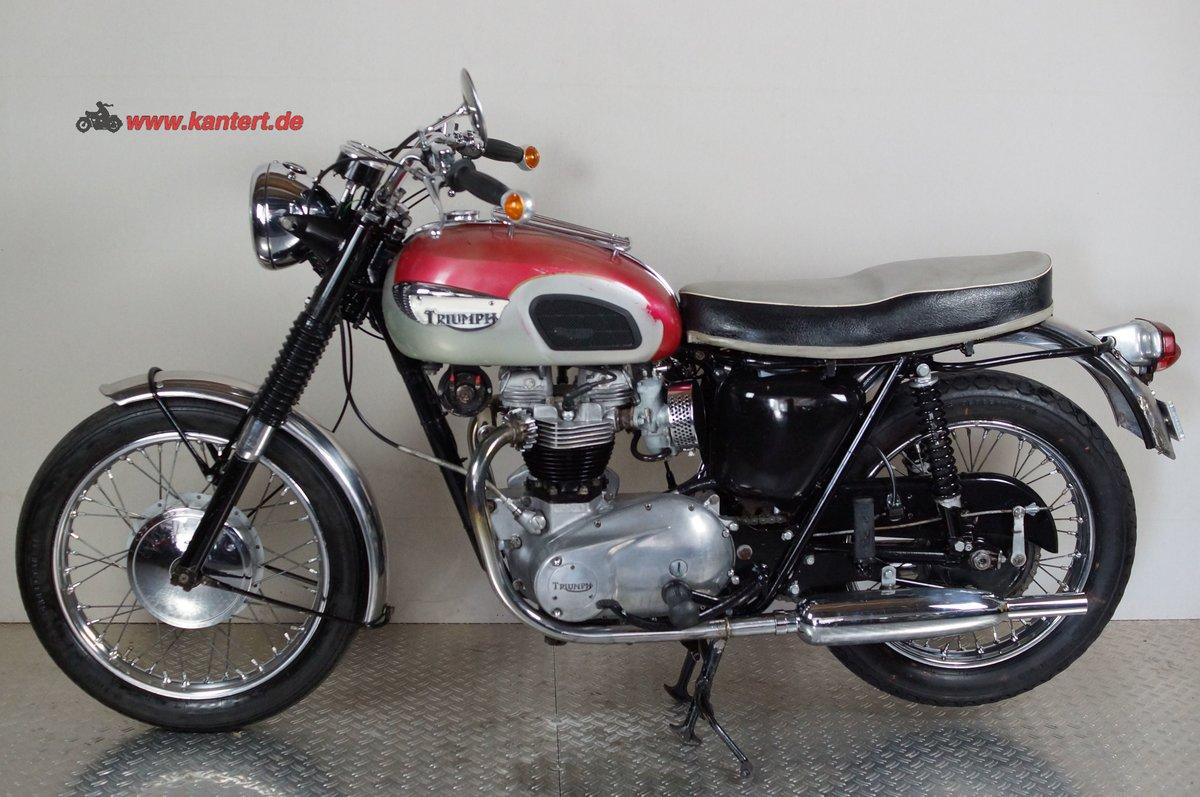 1968 Triumph T 120 R Bonneville, 649 cc,  46 hp For Sale (picture 1 of 6)
