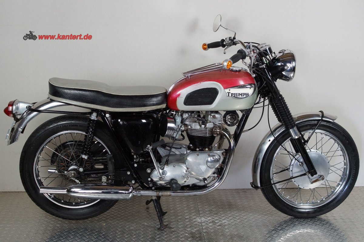 1968 Triumph T 120 R Bonneville, 649 cc,  46 hp For Sale (picture 2 of 6)