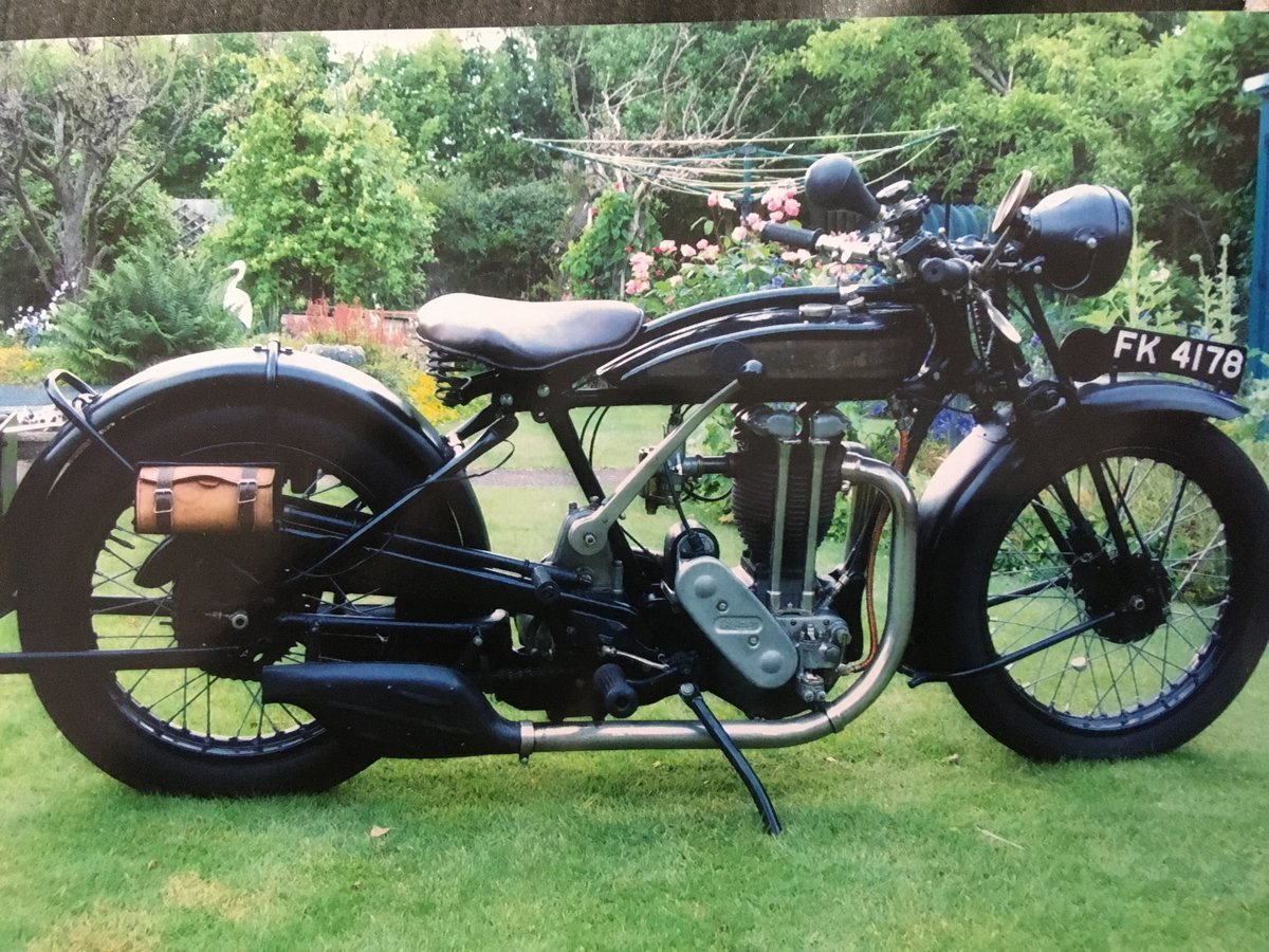 1928 Triumph TT 500cc OHV SOLD (picture 2 of 2)