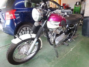 1966 NICE OLD GIRL HISTORIC VEHICLE 650cc TWIN
