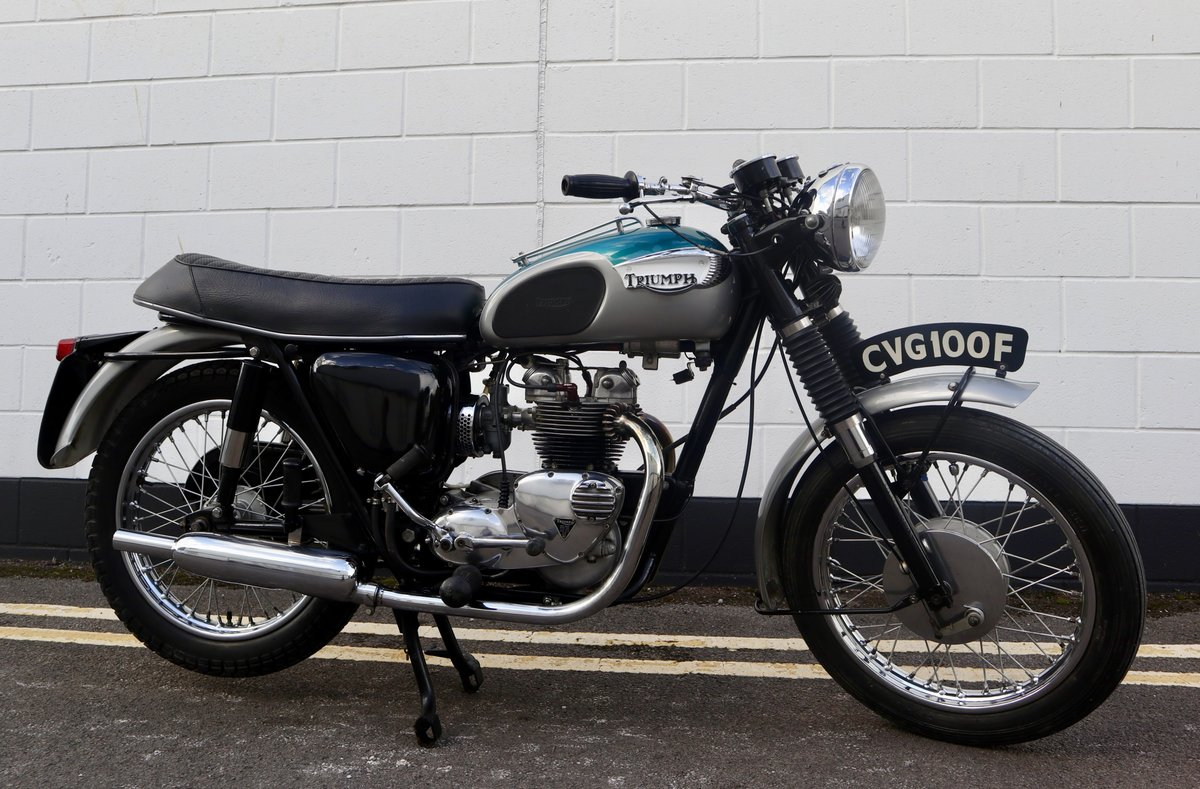 1968 Triumph T100 500cc - Excellent Condition - Matching Num SOLD (picture 1 of 6)