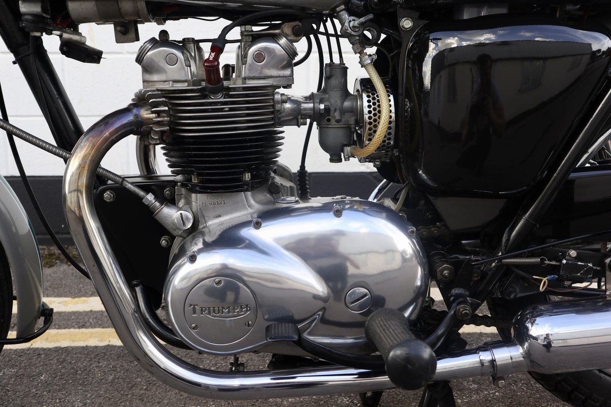 1968 Triumph T100 500cc - Excellent Condition - Matching Num SOLD (picture 4 of 6)