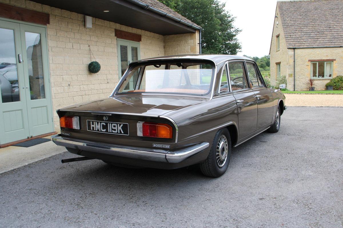 1971 TRIUMPH 2000 MK2 AUTO For Sale (picture 2 of 20)
