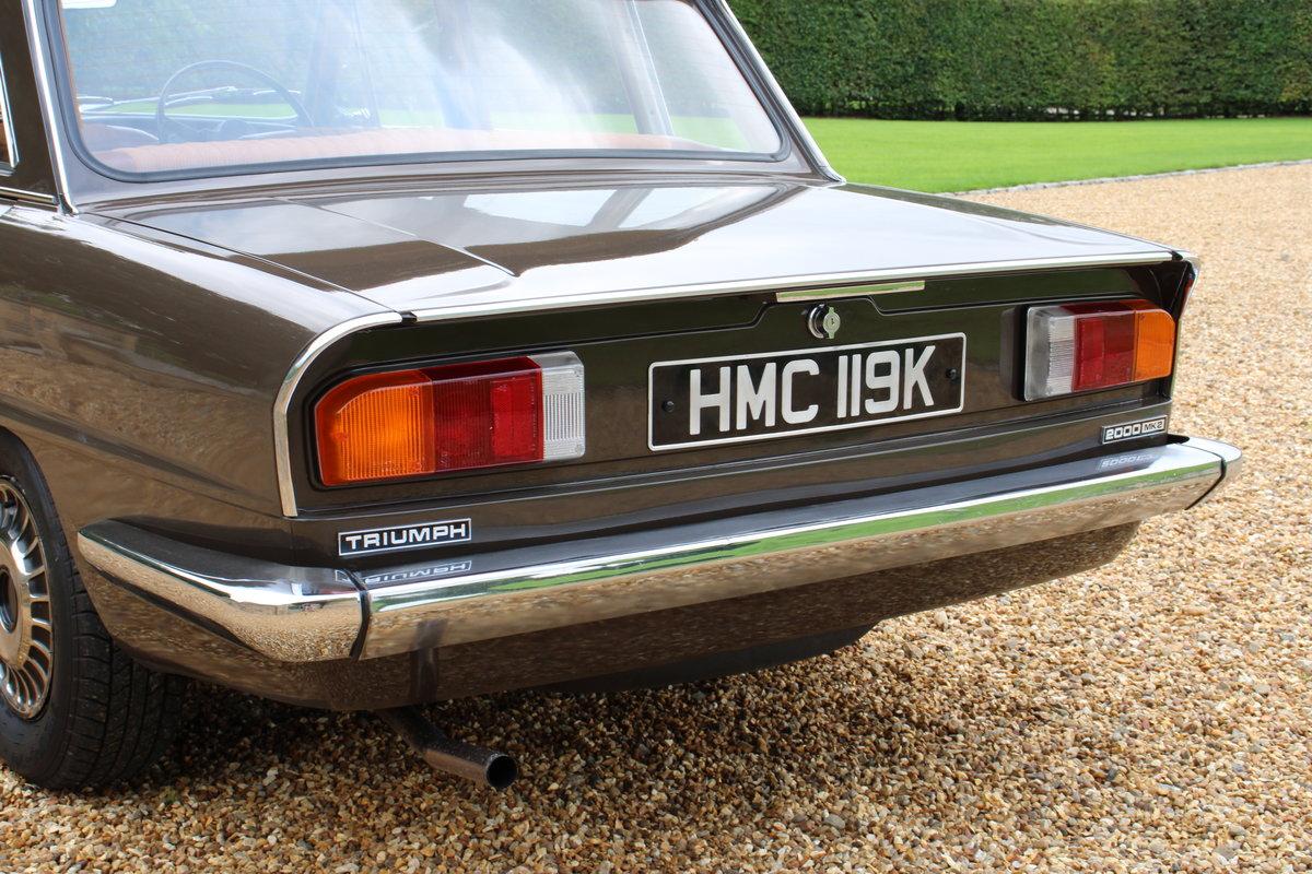1971 TRIUMPH 2000 MK2 AUTO For Sale (picture 5 of 20)