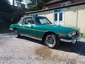 1973 Triumph Stag Mk2 manual/overdrive