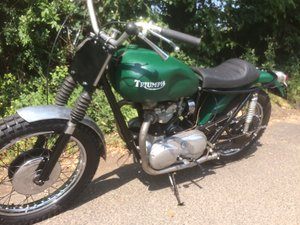 Triumph T110 Desert Racer 650cc Pre Unit