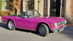 1974 Incredible 44K time warp TR6 - huge history file
