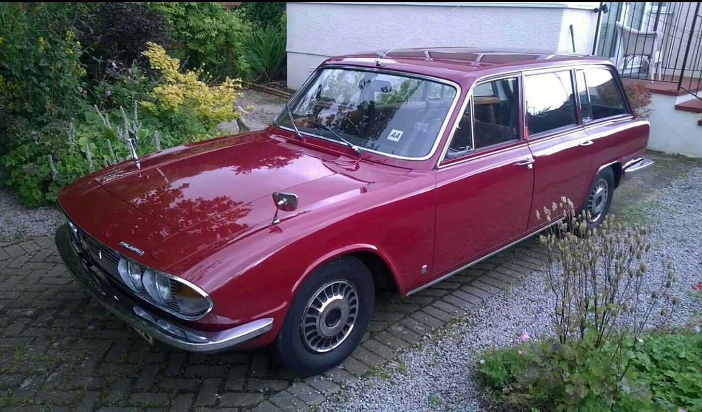 1973 Triumph 2000 Estate Auto SOLD (picture 6 of 6)