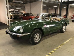 Triumph Spitfire 1500 1980 British Racing Green For Sale