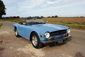 TR6 1973 (BUILT 1972) EXCEPTIONALLY EARLY CR SERIES CAR
