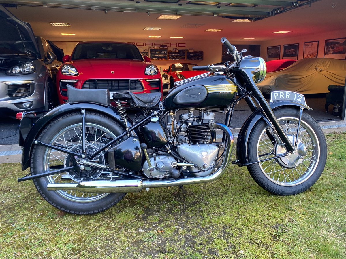 £9,995 : 1954 Triumph 650 Thunderbird For Sale (picture 1 of 6)