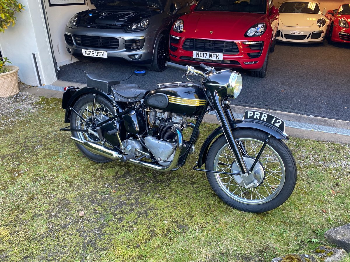 £9,995 : 1954 Triumph 650 Thunderbird For Sale (picture 3 of 6)