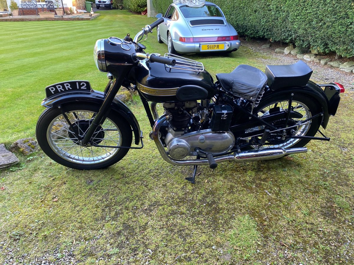 £9,995 : 1954 Triumph 650 Thunderbird For Sale (picture 5 of 6)